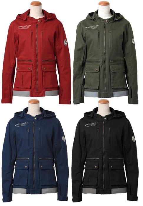 ROSSO Style Lab ROSSO レディース コットンミリタリージャケット