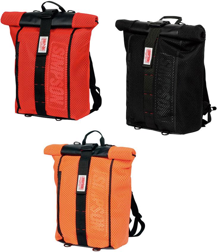SIMPSON 防水ロールアップバッグパック