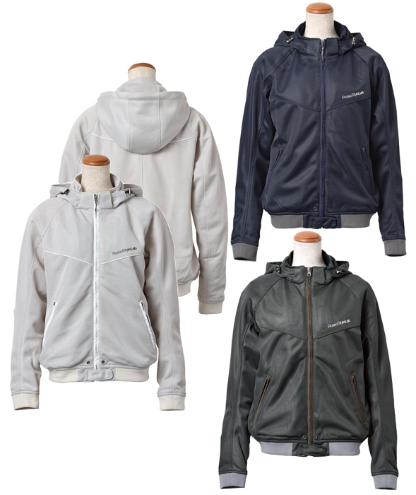ROSSO Style Lab ROSSO レディース フーデッドメッシュジャケット