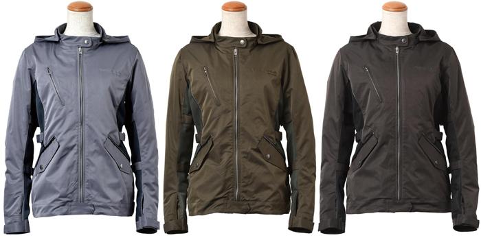 ROSSO Style Lab レディース VELOCITA  防風インナー付メッシュコンビジャケット