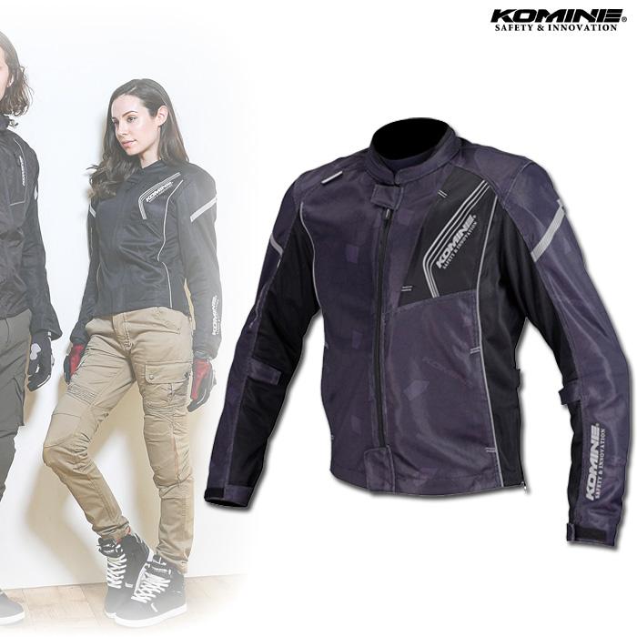 〔WEB価格〕JK-128 プロテクトフルメッシュジャケット ブラック ◆全10色◆
