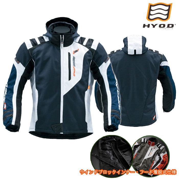 HYOD PRODUCTS STJ029D ST-S SPEED PARKA[スピードパーカー] D3O 春夏用 ネイビー/ホワイト◆全9色◆