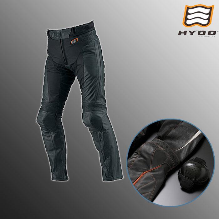 HYOD PRODUCTS HSP708 ST-X MESH PANTS(ブーツアウト) メッシュ パンツ 春夏用 ブラック◆全3色◆