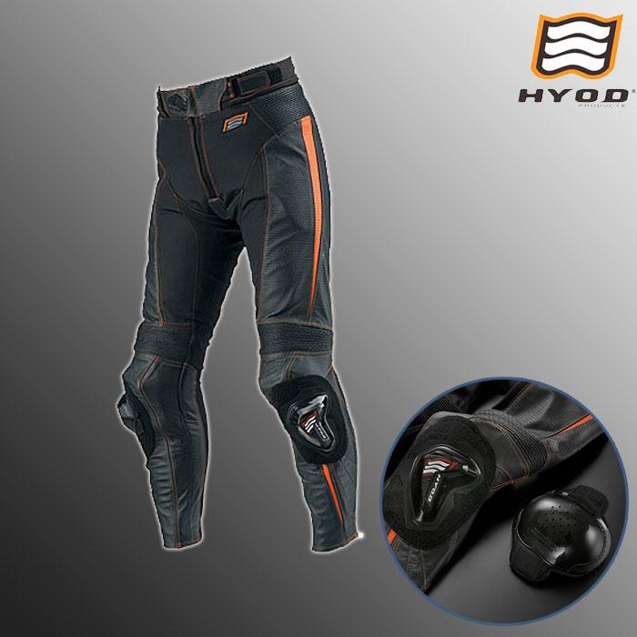 HYOD PRODUCTS HSP709 ST-X MESH PANTS(ブーツイン) メッシュ パンツ  春夏用 ブラック/オレンジ◆全2色◆