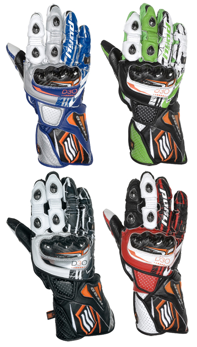 HYOD PRODUCTS EVOLUTION D3O RACING GLOVES [Fast-Hide Limited]