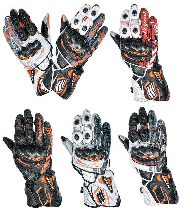 HYOD PRODUCTS EVOLUTION D3O RACING GLOVES