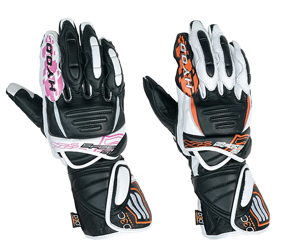 HYOD PRODUCTS 【在庫限り】レディース thea 009 D3O RACING GLOVES HRG002DN
