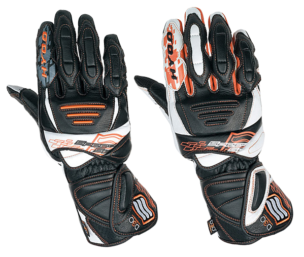 HYOD PRODUCTS 009 D3O RACING PRO GLOVES HRG002SPD