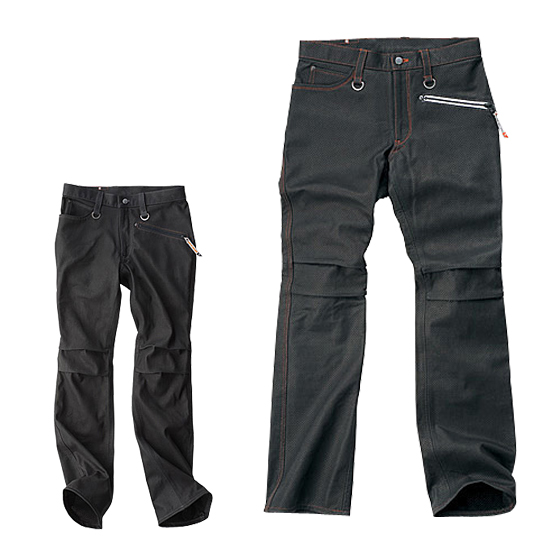 HYOD PRODUCTS 〔WEB価格〕【在庫限り】SMART LEATHER D3O RIDE MESH PANTS