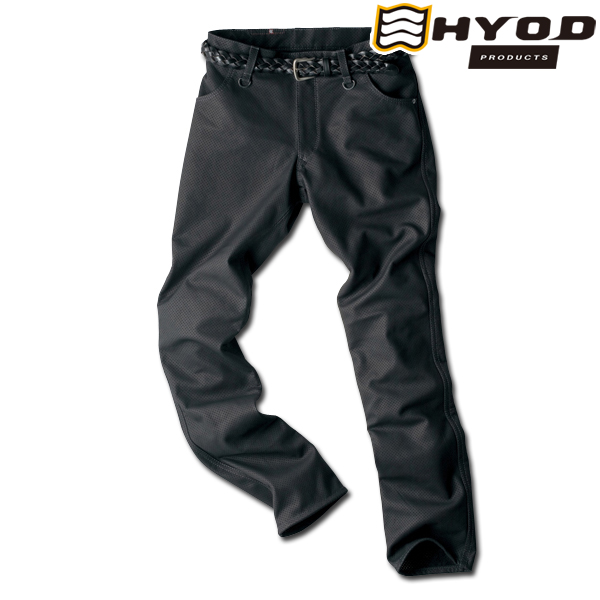 HYOD PRODUCTS SMP006M SMART LEATHER D3O TAPERED MESH PANTS メッシュ パンツ 春夏用