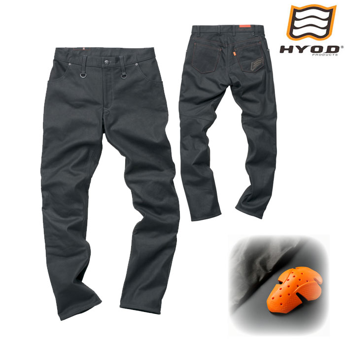 HYOD PRODUCTS SMP006 SMART LEATHER D3O TAPERED PANTS ブラック◆全3色◆