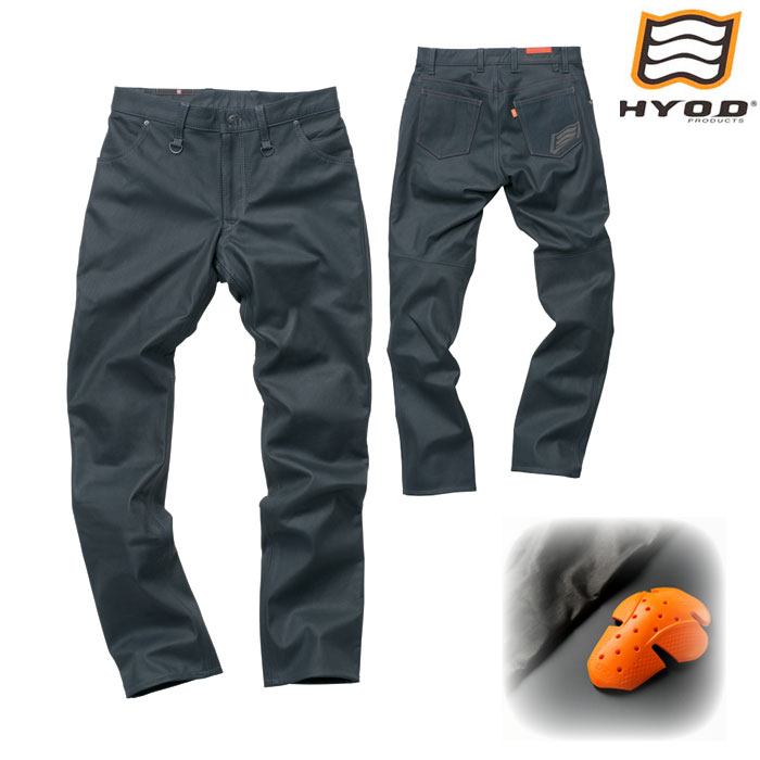 HYOD PRODUCTS SMP006 SMART LEATHER D3O TAPERED PANTS ネイビー◆全3色◆