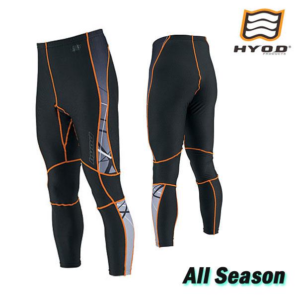 〔WEB価格〕HRU003SP BOOST UNDER PANTS SPLASH [スプラッシュ]  ブラック/オレンジ◆全6色◆