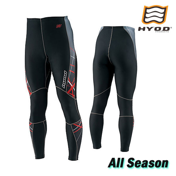 HYOD PRODUCTS HRU003SP BOOST UNDER PANTS SPLASH [スプラッシュ]  レッド/ブラック◆全6色◆
