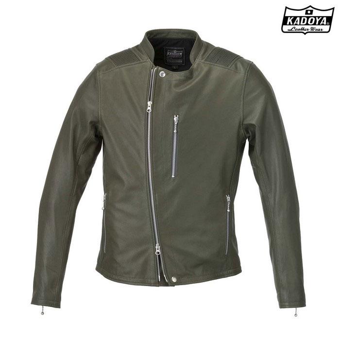 KADOYA 1186 レザージャケット ATLAS 『アトラス』 グリーン ◆全4色◆