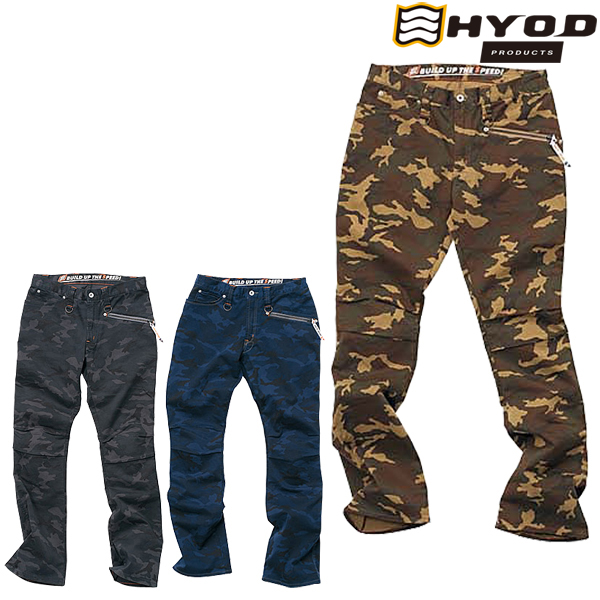 HYOD PRODUCTS 【在庫限り】HYD511DN D3O RIDE PANTS ライド パンツ 春夏用