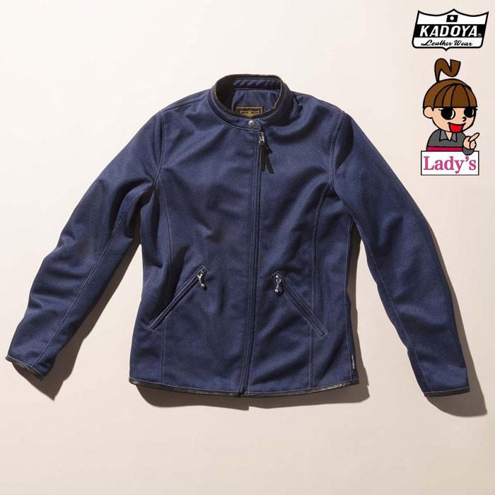 KADOYA レディース6230 AIMIE エイミー メッシュジャケット 春夏用ネイビー ◆全3色◆