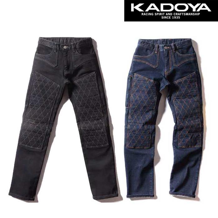 KADOYA 6231 KJ-01E パンツ ストレッチ ジーンズ 春夏用