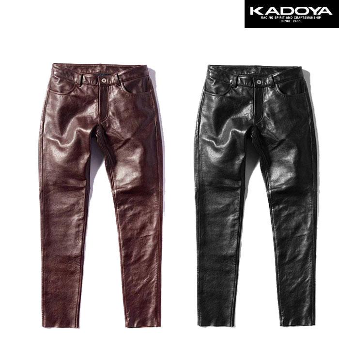KADOYA 〔WEB価格〕2268 LTR-PANTS レザーパンツ