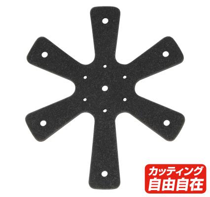 ROUGH&ROAD 〔WEB価格〕ヘルメットスペーサー 10mm厚