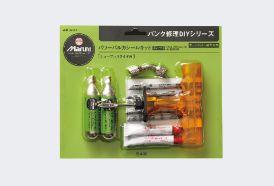 マルニ工業 「パンク修理DIYシリーズ」パワーバルカシールキット(ボンベ付)