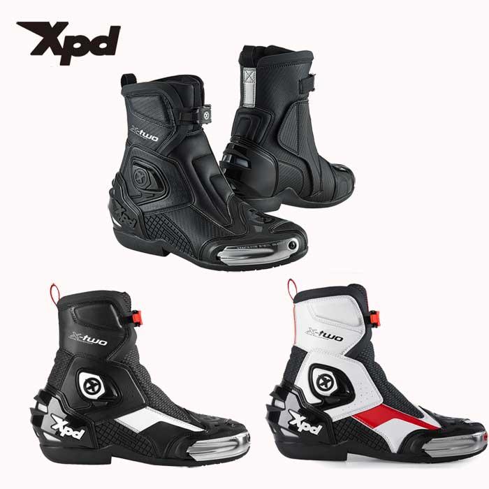 XPD 【WEB限定】X-TWO ショートブーツ