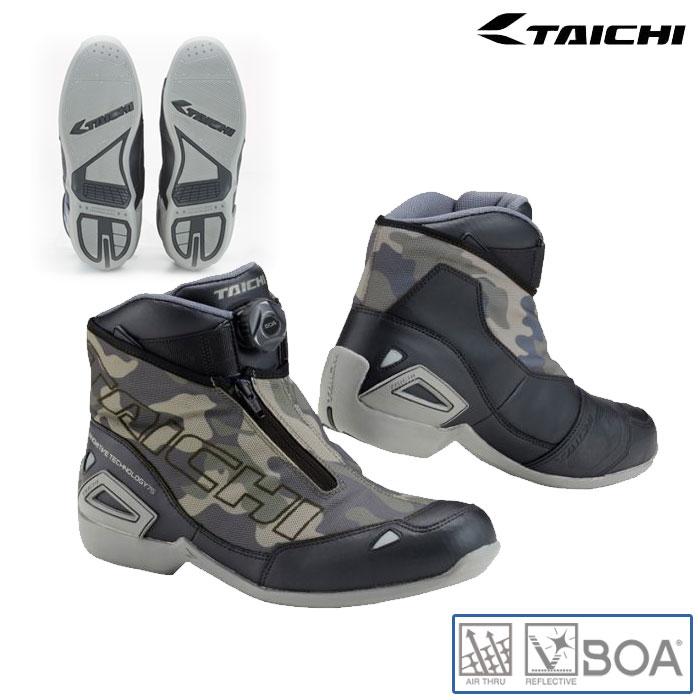 アールエスタイチ RSS008 Boaラップエアーライディングシューズ スニーカー 靴 メッシュ 春夏用 カモフラージュ ◆全4色◆