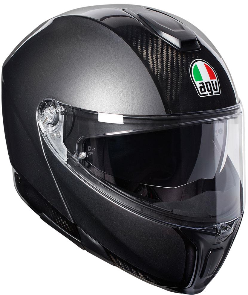 AGV 〔WEB価格〕AGV SPORTMODULAR CARBON/DARK GREY【スポーツモデュラー カーボン ダークグレー】 フルフェイス ヘルメット