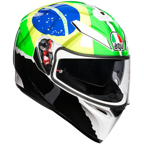 AGV 〔WEB価格〕AGV K-3 SV MORBIDELLI 2017【モルビデリ】 フルフェイス ヘルメット