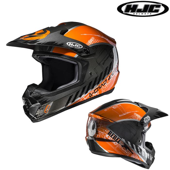 HJC 〔WEB価格〕HJH143 STARWARS CS-MXII REBEL X-WING 【スター・ウォーズ レブル X-WING】オフロードヘルメット