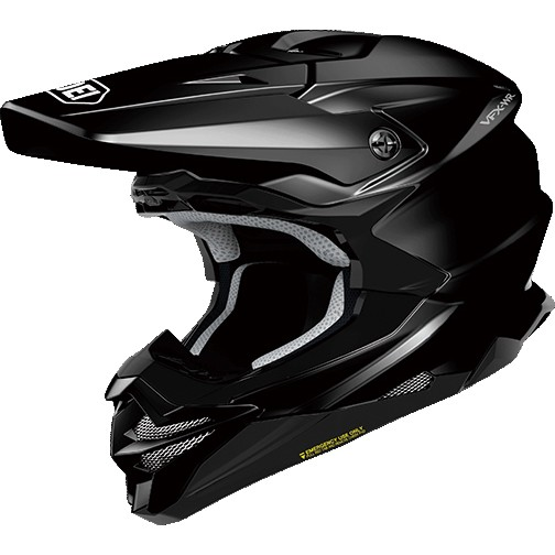 SHOEI ヘルメット VFX-WR【ブイエフエックス-ダブルアール】 オフロードヘルメット ブラック