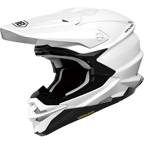 SHOEI ヘルメット VFX-WR【ブイエフエックス-ダブルアール】 オフロードヘルメット ホワイト