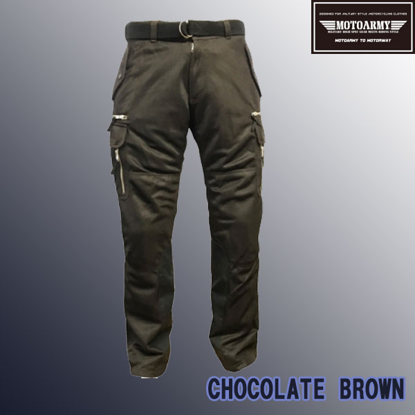 FreeBee 【通販限定】MAP-901 SWEDEN ARMY CARGO PANTS M-59 MODEL ライディングカーゴパンツ CHOCOLATE BROWN/Mサイズ