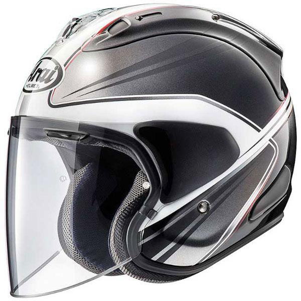 Arai (個別配送のみ 他商品との同梱配送不可)VZ-RAM WEDGE 【ウエッヂ】 ジェットヘルメット ホワイト