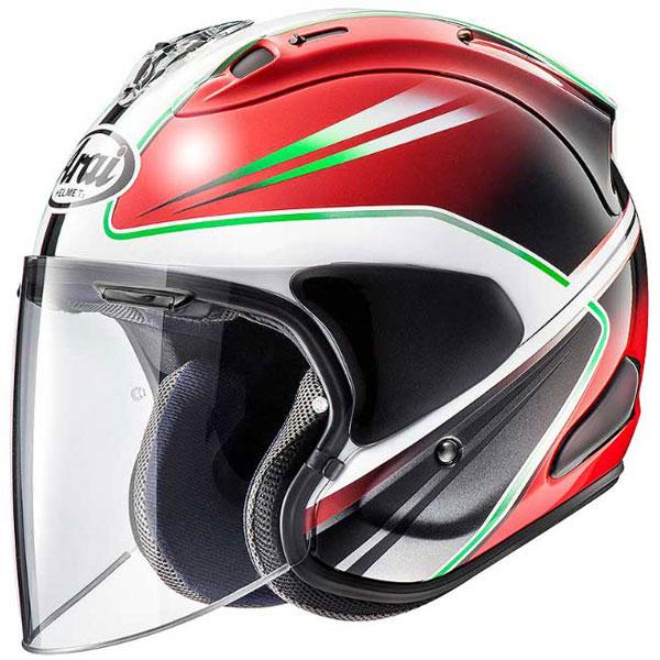 Arai (個別配送のみ 他商品との同梱配送不可)VZ-RAM WEDGE 【ウエッヂ】 ジェットヘルメット レッド