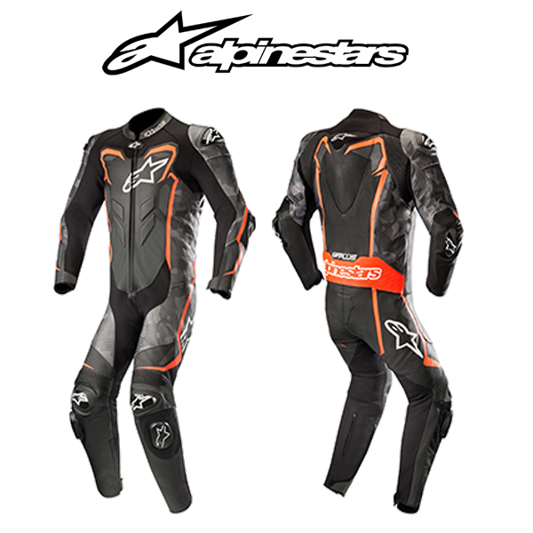 alpinestars GP PLUS 2 CAMO LEATHER SUIT