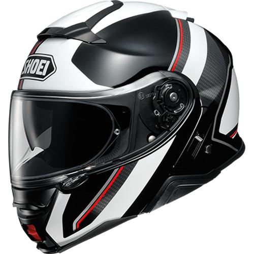SHOEI ヘルメット (個別配送のみ 他商品との同梱配送不可)NEOTEC II EXCURSION【ネオテック ツー エクスカーション】 システムヘルメット TC-6(WHITE/BLACK)