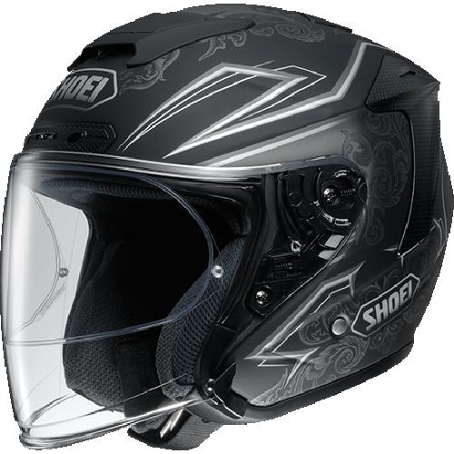 SHOEI ヘルメット (個別配送のみ 他商品との同梱配送不可)J-FORCE IV REFINADO【ジェイ-フォース フォー レフィナード】ジェットヘルメット TC-10(SILVER/BLACK) マットカラー