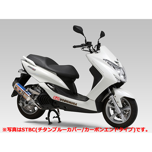 YOSHIMURA JAPAN 【予約商品】機械曲 R-77S サイクロン チタンカバー/カーボンエンド EXPORT SPEC 政府認証 MAJESTY S