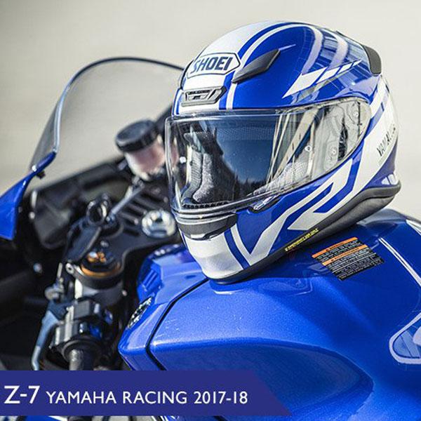 SHOEI ヘルメット 【WEB限定】Z-7 YAMAHA RACING 2017-2018