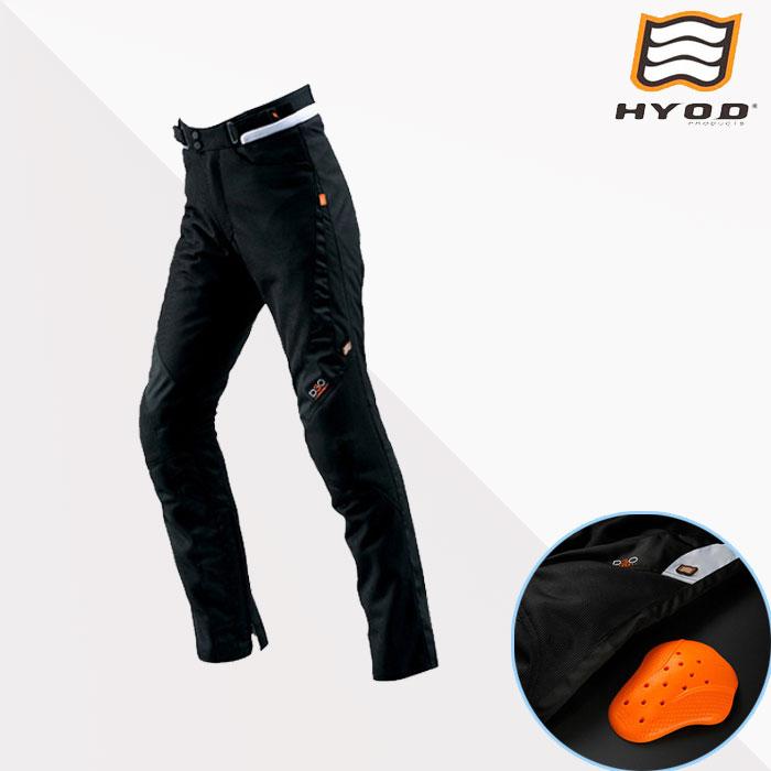 HYOD PRODUCTS STT005D ST-S D3O MESH PANTS(ストレート)  パンツ メッシュ 春夏用 ブラック◆全4色◆