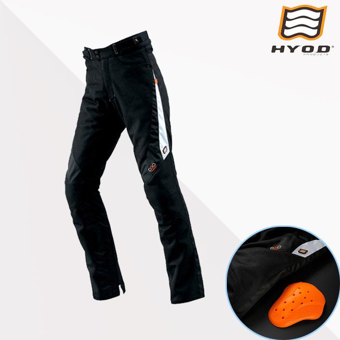 HYOD PRODUCTS STT005D ST-S D3O MESH PANTS(ストレート)  パンツ メッシュ 春夏用 ブラック/ホワイト◆全4色◆