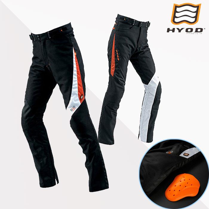 HYOD PRODUCTS STT005D ST-S D3O MESH PANTS(ストレート)  パンツ メッシュ 春夏用 ブラック/サンセット◆全4色◆