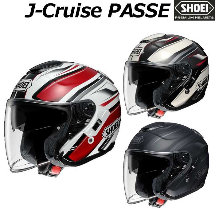 SHOEI ヘルメット J-CRUISE PASSE[パッセ]