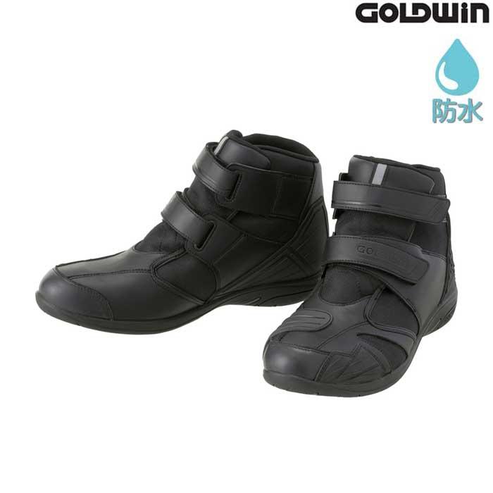 GOLDWIN GSM1054 Gベクター ツーリングシューズ ブラック(K)◆全3色◆