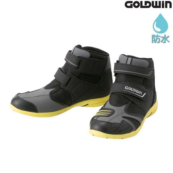 GOLDWIN GSM1054 Gベクター ツーリングシューズ ブラック×グレーライム(HL) ◆全3色◆