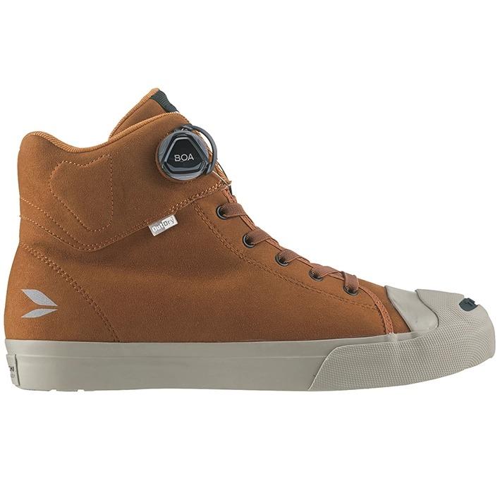 アールエスタイチ 〔WEB価格〕RSS009 OutDry BOA ライディングシューズ スニーカー 靴 バイク用 スエードブラウン ◆全6色◆