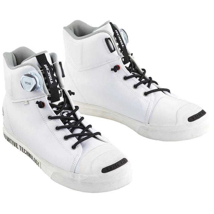 〔WEB価格〕RSS009 OutDry BOA ライディングシューズ スニーカー 靴 バイク用 オールホワイト ◆全6色◆