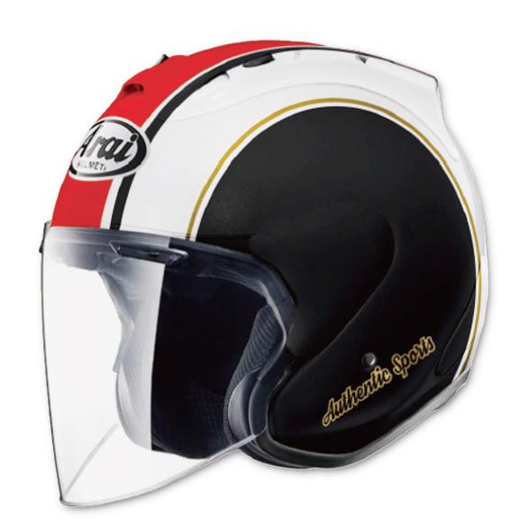 Arai 〔WEB価格〕YAMAHA VZ-Ram ストライプ【VZ・ラム ストライプ】 ジェットヘルメット