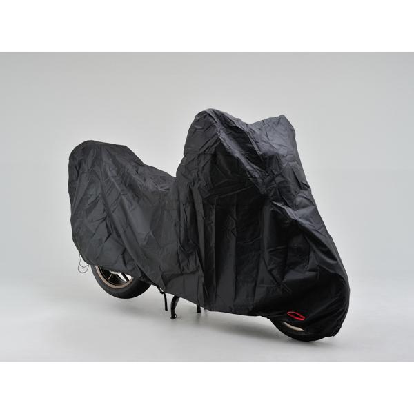 DAYTONA 〔WEB価格〕ブラックカバー ウォーターレジスタント ライト Lサイズ【大切なバイクを花粉・黄砂から守る】